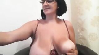 Aged Mother I'd Like To Fuck With Giant Natural Tits