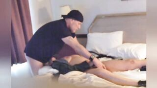 Fortunate Chap Screws Hawt mother I'd like to fuck in Motel