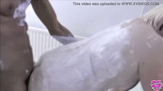 GRANNYLOVESBLACK - Lewd Housewife Pounded By Painters