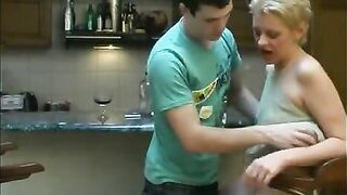 Short haired, Russian aged loves to have casual sex with younger boys, each one time in a whilst