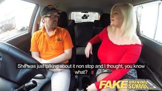 Fake Driving School Breasty Older mother I'd like to fuck Sucks and Screws Favourable Instructor