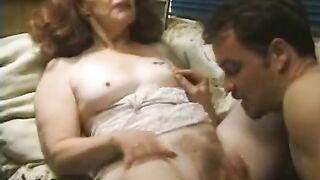 MANIAC PASS - Longhaired granny enjoys sex