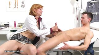Jizz Hospital - Impure Aged Whore Nurse Stefania