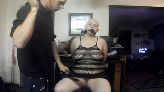 baldbabey roleplay spanked and razor bald bound up