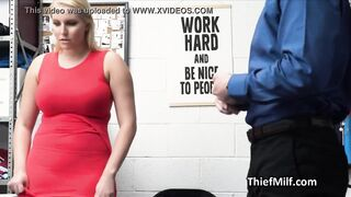 Wet assed mother i'd like to fuck suspect banged hard on the office desk