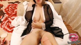 Wicked mother I'd like to fuck TITFUCK with LARGE SEX TOOL!!! Excited Mother I'd Like To Fuck Plays With Giant VIBRATOR And Fingering Her SOAKED SNATCH